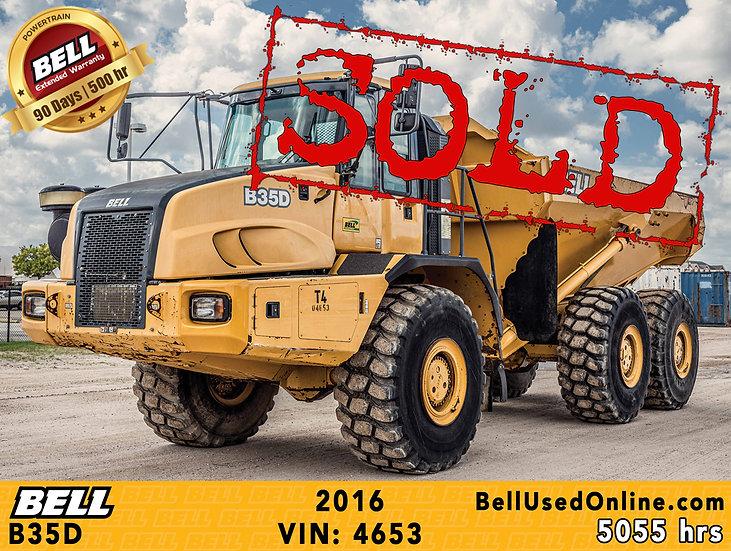 BELL B35D VIN: 4653