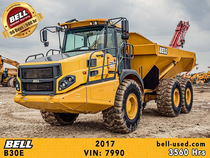 BELL B30E VIN: 7990