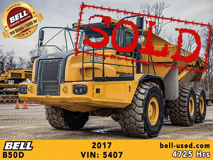 BELL B50D VIN: 5407