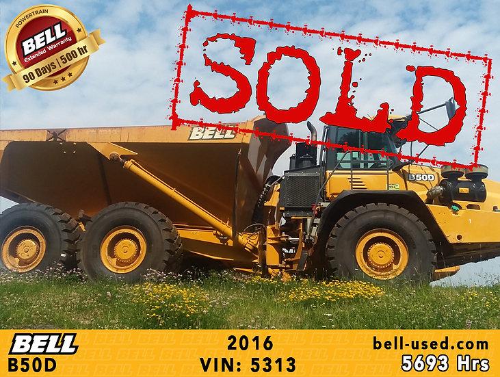 BELL B50D VIN: 5313
