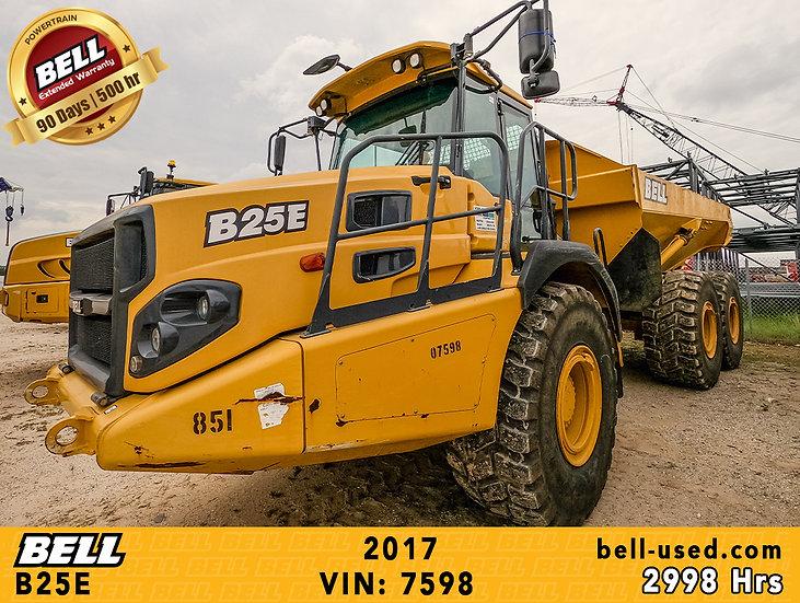 used Bell dump truck B25E