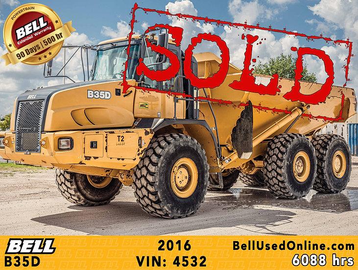 BELL B35D VIN: 4532