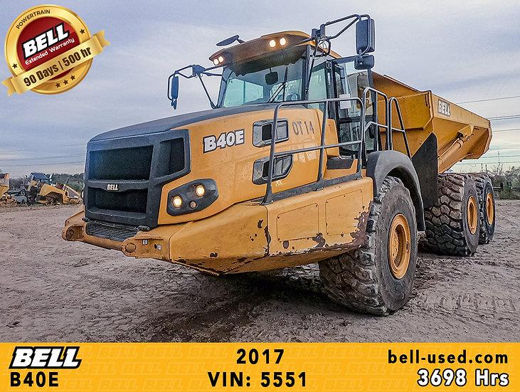 BELL B40E VIN: 5551