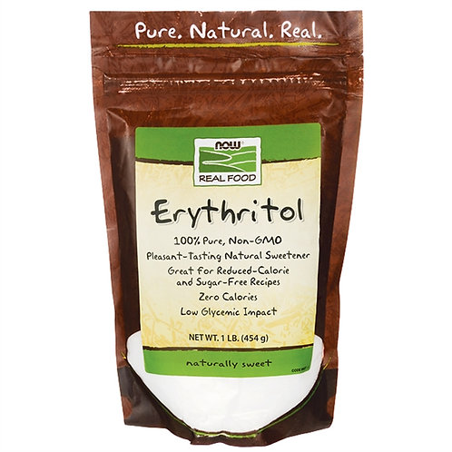 ERYTHRITOL 454G - NOW REAL FOOD