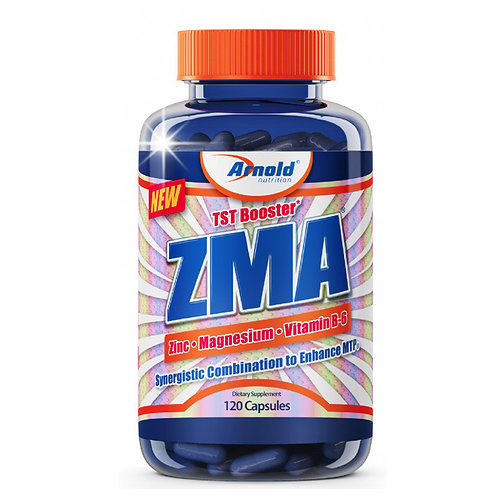 ZMA 120 CÁPSULAS - ARNOLD NUTRITION
