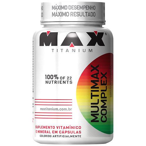MULTIMAX COMPLEX 90 CÁPS - MAX TITANIUM