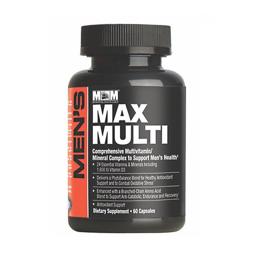 Men Max Multi-Vitaminas - 60CAPS - Max Muscle
