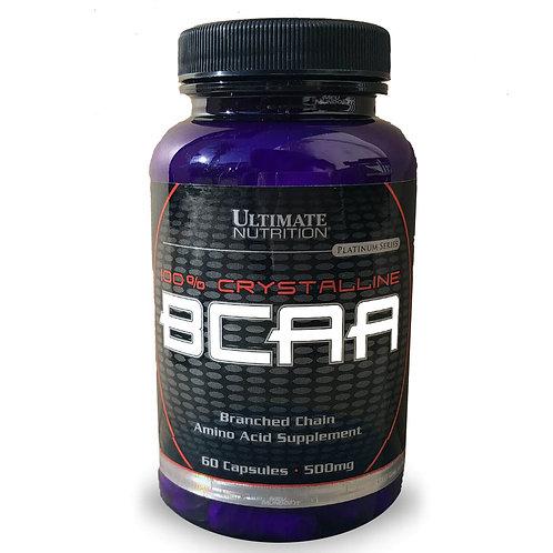 BCAA 500mg 60 Cápsulas Ultimate Nutrition