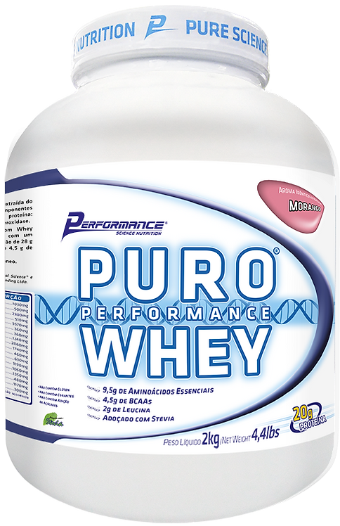 Puro Whey - 2,2KG - Performance Nutrition