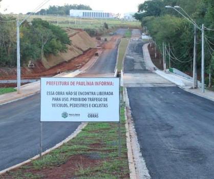 Obra da ponte da Rhodia é finalizada e aguarda a liberação da Cetesb para acesso ser liberado