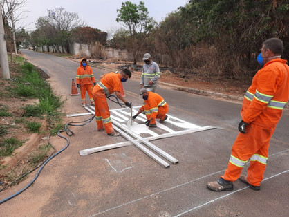 "Prefeitura inicia ""Programa Sinaliza Paulínia"" no Parque da Represa"