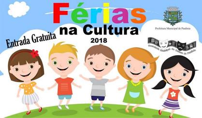 Férias na Cultura garante diversão e conhecimento durante todo o mês de janeiro