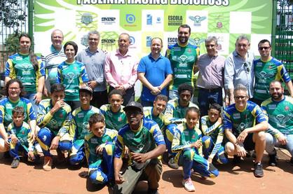 Escola Paulínia Racing Bicicross atenderá 300 alunos gratuitamente