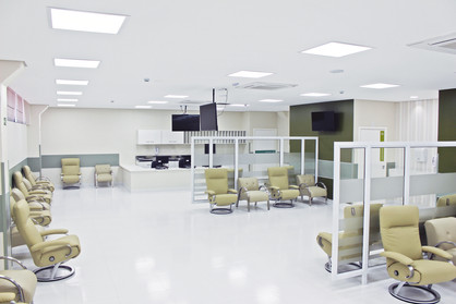 Pacientes de Paulínia em tratamento no Centro de Quimioterapia da Unimed Campinas são atendidos em S