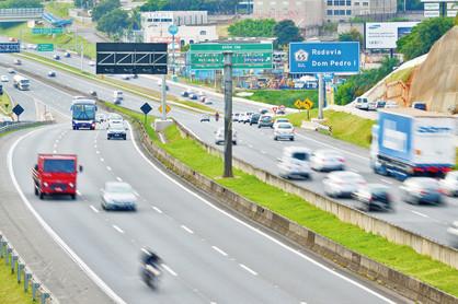 Durante feriado de Páscoa 555 mil veículos devem passar pelo Corredor Dom Pedro