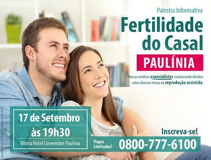 Paulínia recebe palestra gratuitasobre fertilidadedo casal