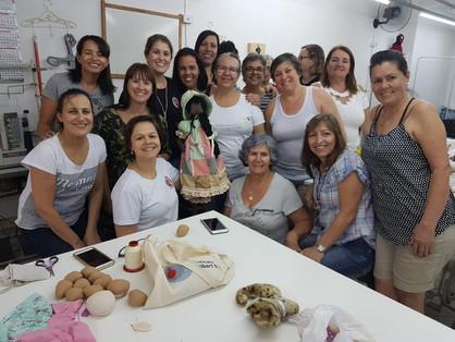 Projeto Joelhos de Pano realiza festa junina para arrecadar fundos