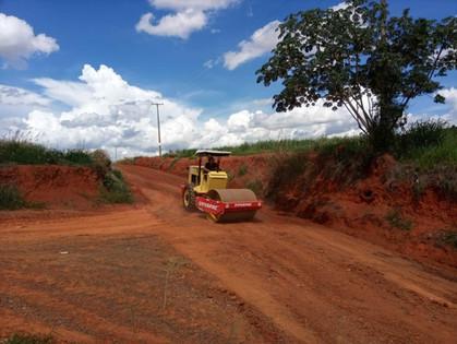 Estrada PLN 248, que liga Paulínia a Sumaré, está recebendo os serviços de limpeza e manutenção