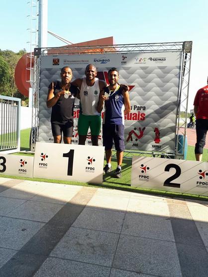 Atletas paulinenses são campeões na 1ª Etapa do Circuito paulista de esportes para deficientes visua