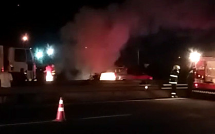 Grave acidente com veículos lotados deixa onze feridos