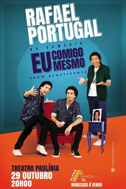 Comediante Rafael Portugal realiza espetáculo para ajudar paciente com câncer