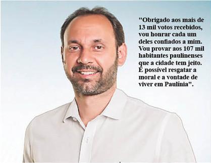 Du Cazellato tomará posse como prefeito até 7 de outubro