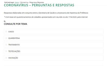 Nova página da Câmara reúne perguntas e respostas sobre coronavírus
