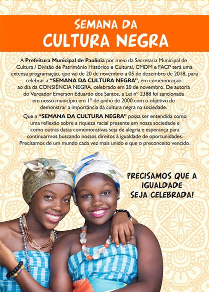 Paulínia recebe Semana da Cultura Negra com programação diversificada