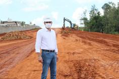 Terraplanagem da nova Ponte do Rio Atibaia segue em fase final