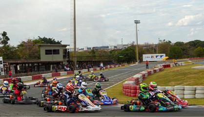 6ª etapa da Copa F-Racers de Kart é neste sábado (28) em Paulínia
