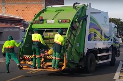 Paulinenses aprovam com alto grau de satisfação a coleta de lixo no município