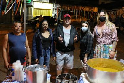 Arraial Solidário é realizado para pessoas em situação de rua e vulnerabilidade social de Paulínia