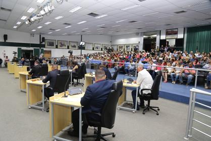 Sindicato cita em nota que houve coerência na decisão dos vereadores que não aprovaram abono salaria