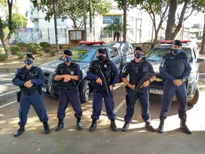 Agentes policiais da Guarda Civil já estão realizando patrulhas com armas longas