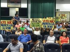 Após protestos e pressão dos funcionários públicos, Câmara rejeita PL de Dixon Carvalho