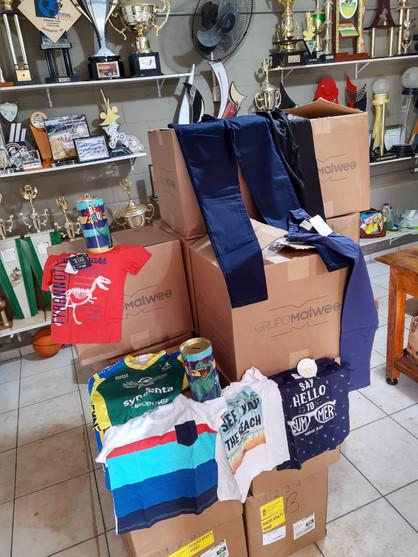 Grupo Malwee promove doações de roupas via Paulínia Racing Bicicross
