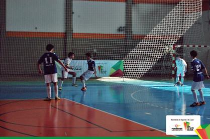 Campeões das categorias do Campeonato menores de futsal serão definidos
