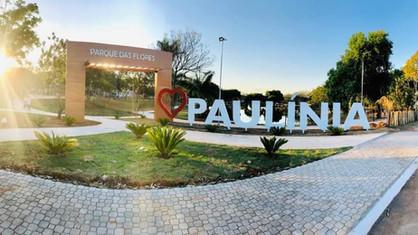 Paulínia ganha cartão postal na nova entrada do Parque das Flores