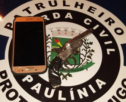 Moradores de Sumaré são presos pela GM após roubarem moto na José Paulino