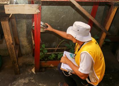 Cerca de 2.400 residências já foram alcançadas com os mutirões de combate ao Aedes aegypti