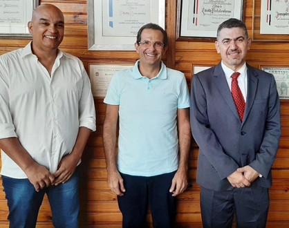 Professor e Delegado de Polícia, Dr. Roberto Daher filia-se ao DEM em Paulínia
