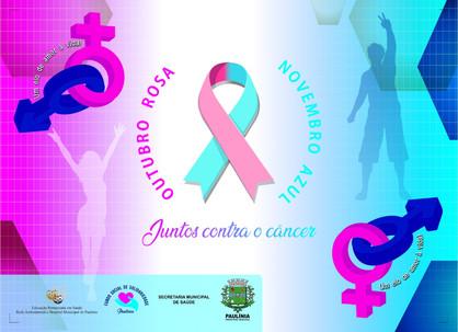 Prefeitura realiza ações em conscientização ao outubro rosa juntamente com novembro azul