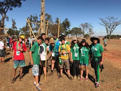 Grupo Bem-te-vi participa de encontro de escoteiros em Barretos