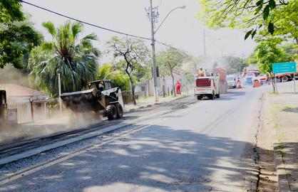 Paulínia vai investir R$ 17 milhões em programa de recapeamento do município