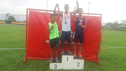 Paulinenses conquistam medalhas de ouro, prata e bronze em Circuito Regional de Atletismo