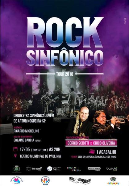 Orquestra Sinfônica Jovem de Arthur Nogueira fará apresentação beneficente no Theatro de Paulínia