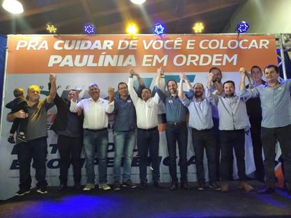 Du Cazellato e Sargento Camargo iniciam campanha reunindo mais de mil pessoas