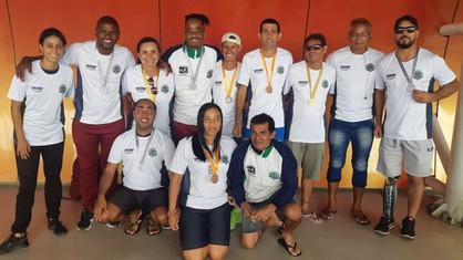 Equipe de atletismo ACD conquista nove ouros, sete pratas e dois bronzes no Centro Paraolímpico Bras