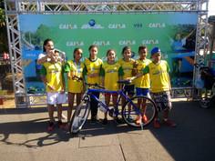 Atletas paulinenses participam do Circuito Caixa de Maratoninha