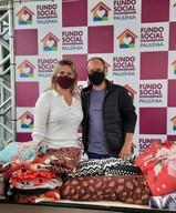 Fundo Social recebe agasalhos arrecadados por funcionários do Legislativo